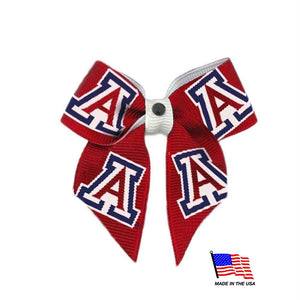 Arizona Wildcats Pet Hair Bow - staygoldendoodle.com