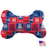 Arizona Wildcats Plush Bone Toy - staygoldendoodle.com