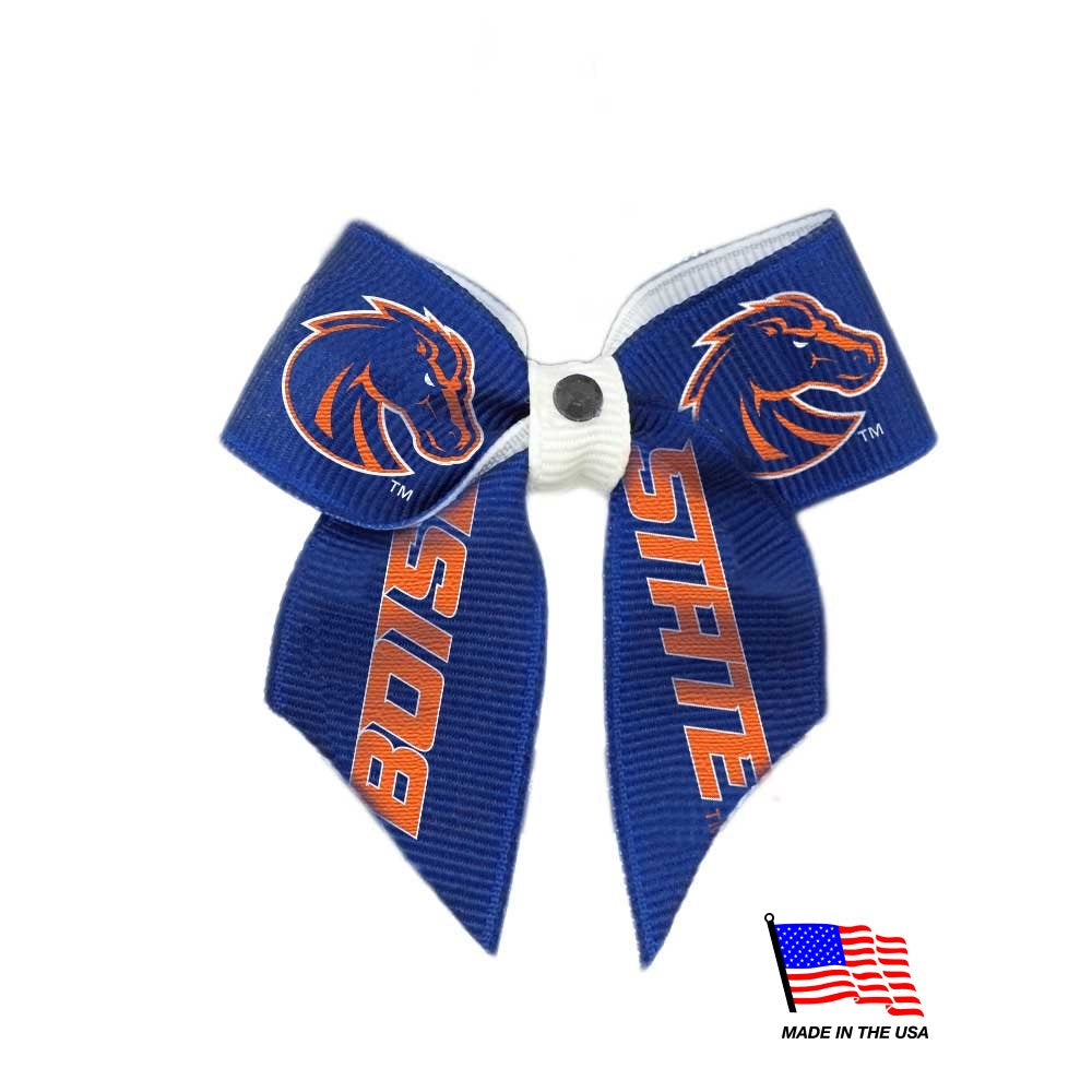 Boise State Pet Hair Bow - staygoldendoodle.com