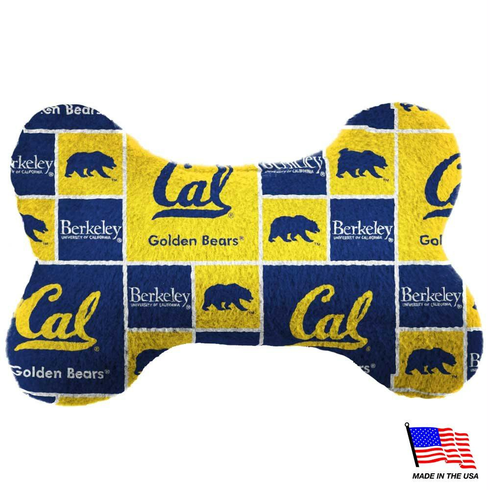 Cal Berkeley Plush Bone Toy - staygoldendoodle.com