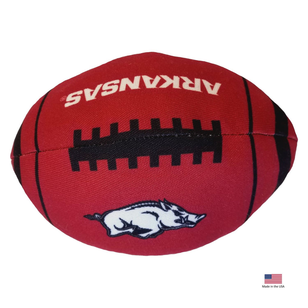 Arkansas Razorbacks Football Toss Toy
