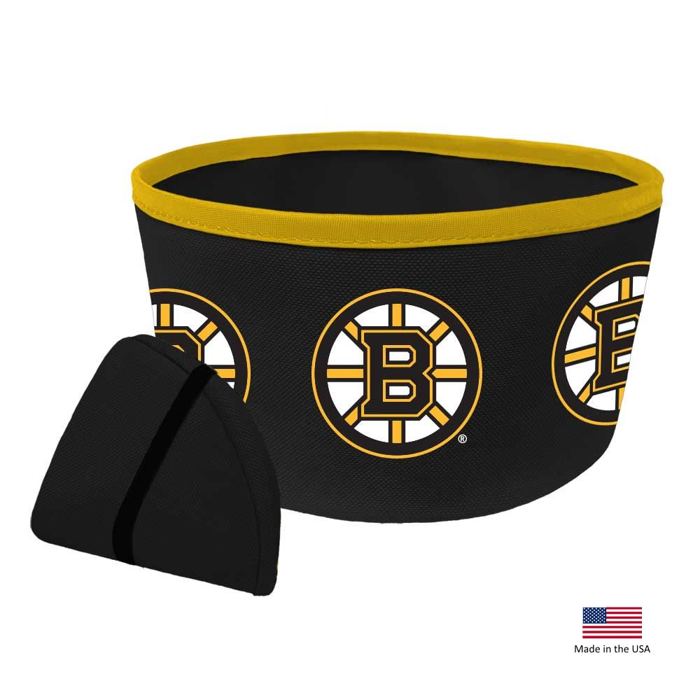 Boston Bruins Collapsible Pet Bowl