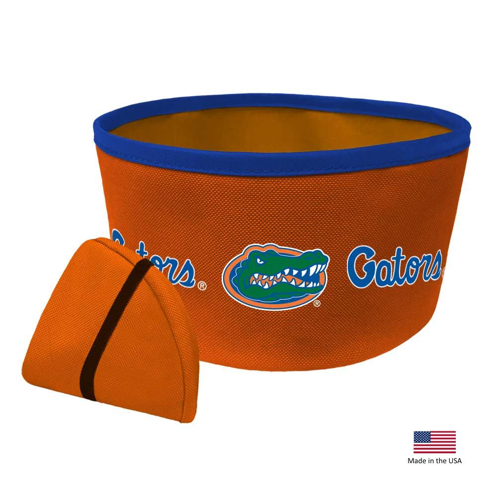 Florida Gators Collapsible Pet Bowl
