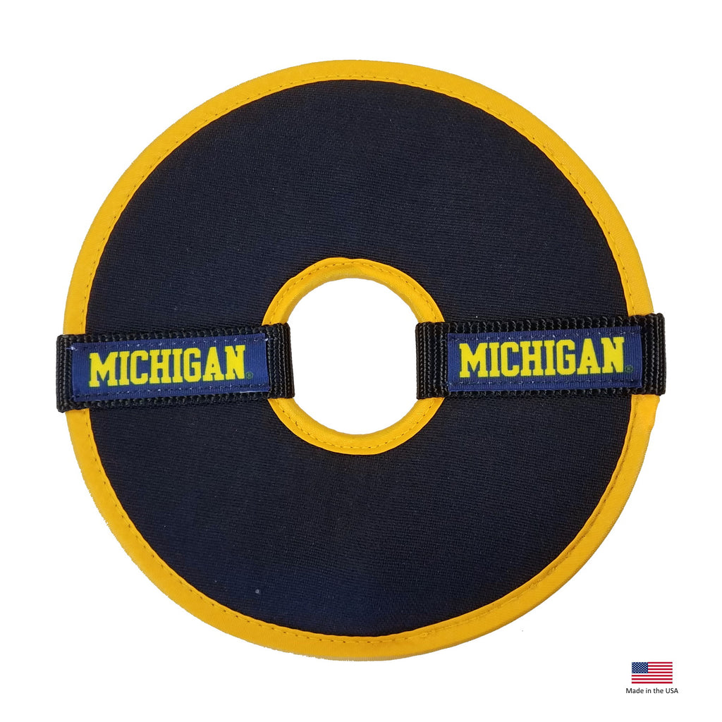 Michigan Wolverines Flying Disc Toy