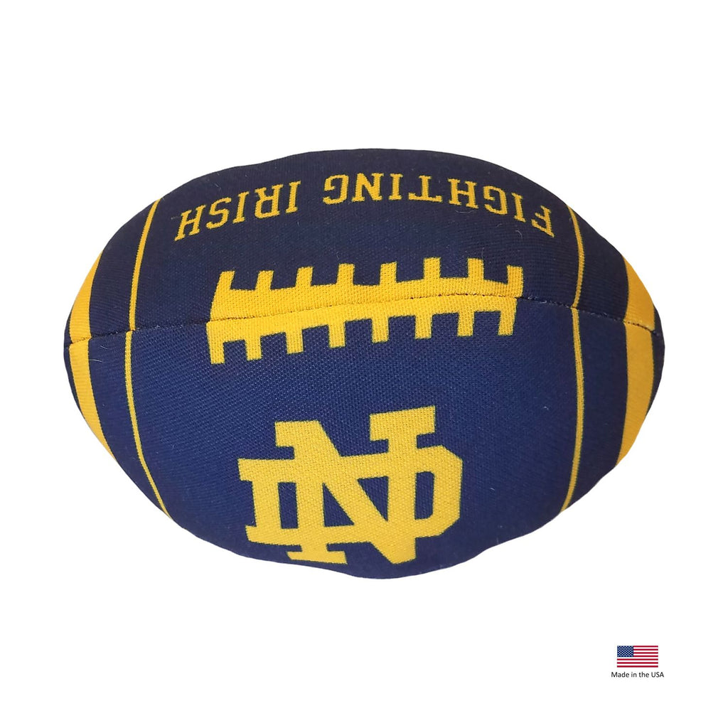 Notre Dame Fighting Irish Football Toss Toy