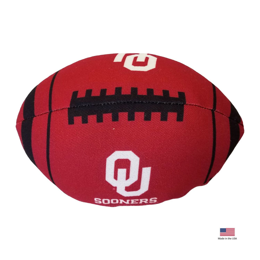 Oklahoma Sooners Football Toss Toy