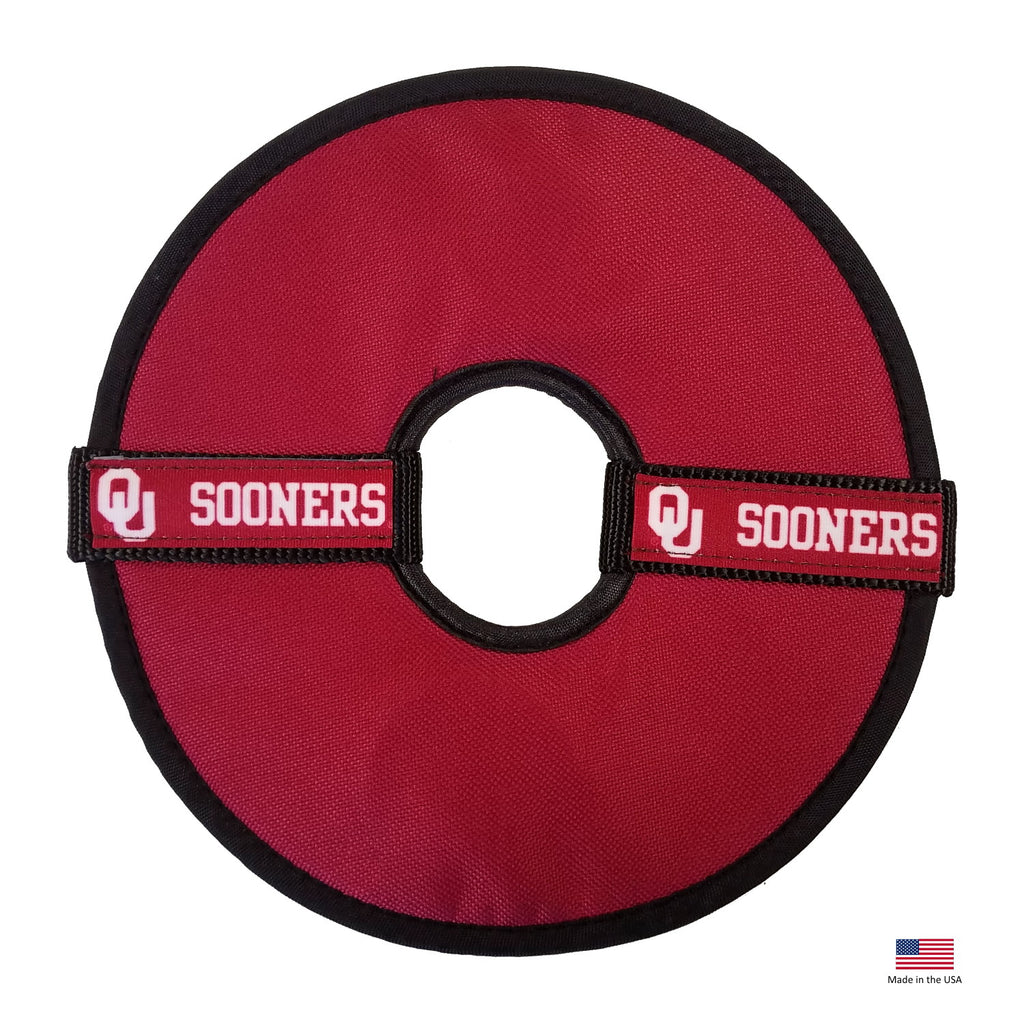 Oklahoma Sooners Flying Disc Toy