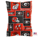 Georgia Bulldogs Pet Slumber Bed - staygoldendoodle.com
