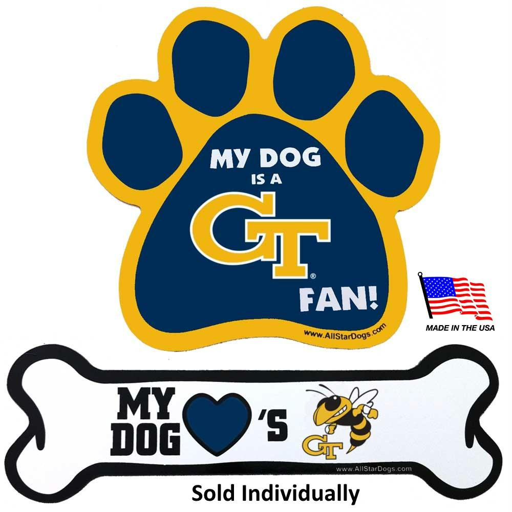 Georgia Tech Car Magnets - staygoldendoodle.com