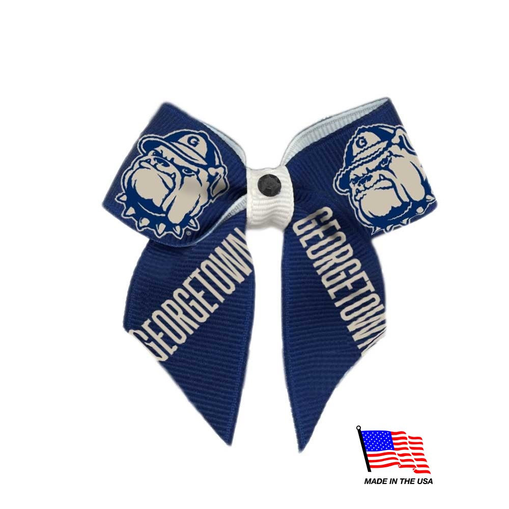 Georgetown Hoyas Pet Hair Bow - staygoldendoodle.com