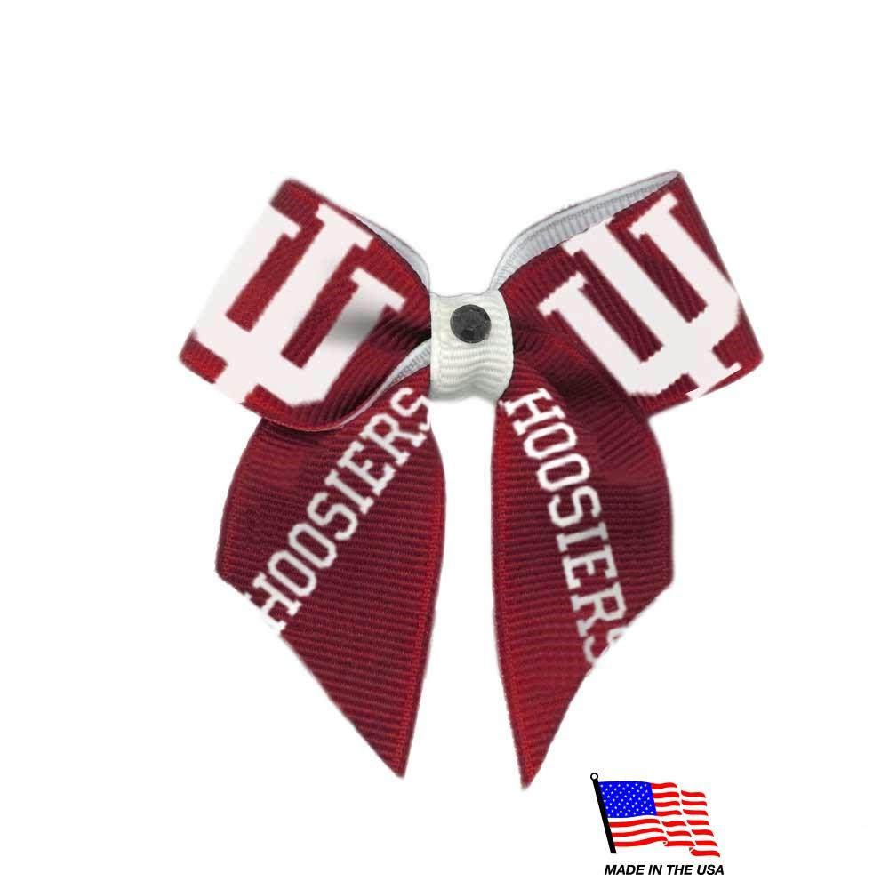 Indiana Hoosiers Pet Hair Bow - staygoldendoodle.com
