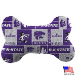 Kansas State Plush Bone Toy - staygoldendoodle.com