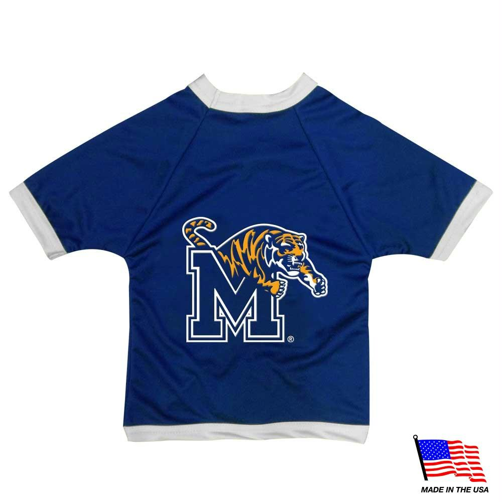 Memphis Tigers Athletic Mesh Pet Jersey - staygoldendoodle.com