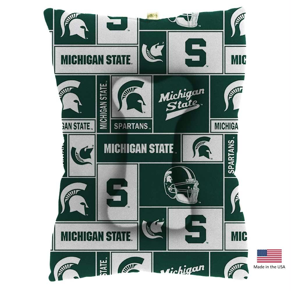 Michigan State Spartans Pet Slumber Bed - staygoldendoodle.com