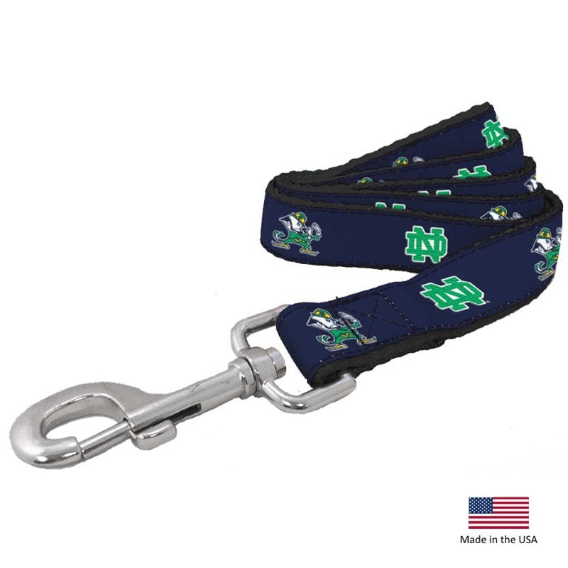 Notre Dame Leprechaun Pet Leash