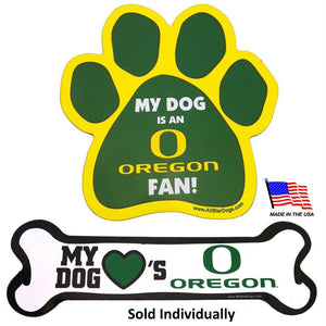 Oregon Ducks Car Magnets - staygoldendoodle.com