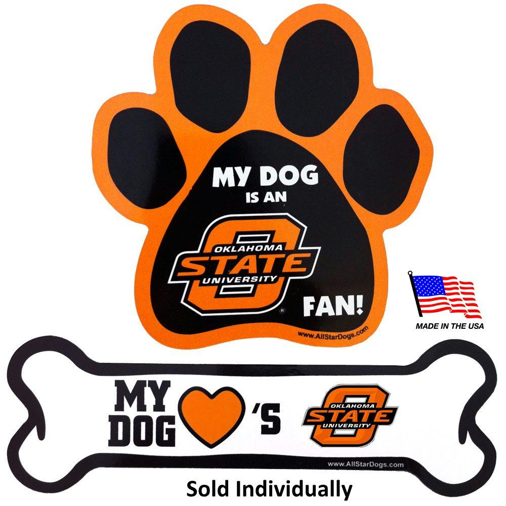 Oklahoma State Car Magnets - Stay Golden Doodle
