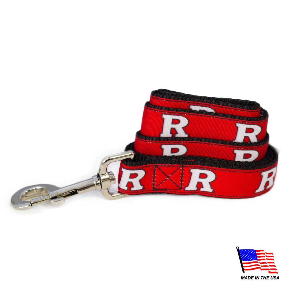 Rutgers Scarlet Knights Pet Leash - staygoldendoodle.com