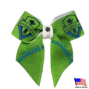 Seattle Sounders Pet Hair Bow - staygoldendoodle.com