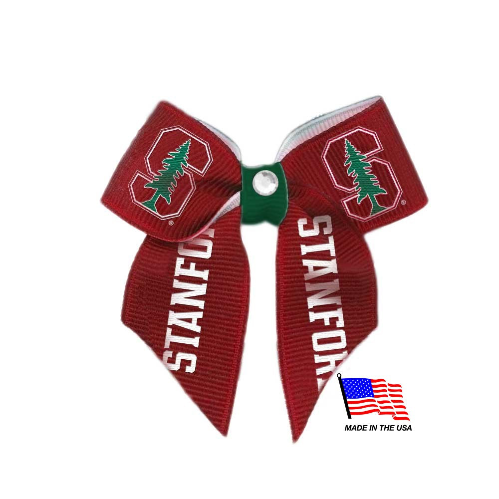 Stanford Cardinal Pet Hair Bow - staygoldendoodle.com