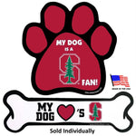 Stanford Cardinal Car Magnets - staygoldendoodle.com