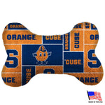 Syracuse Orange Plush Bone Toy - staygoldendoodle.com