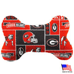 Georgia Bulldogs Plush Bone Toy - staygoldendoodle.com
