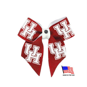 Houston Cougars Pet Hair Bow - staygoldendoodle.com