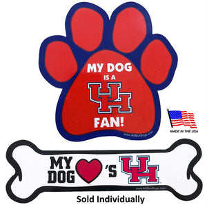 Houston Cougars Car Magnets - staygoldendoodle.com