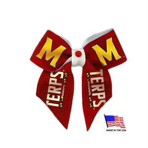 Maryland Terrapins Pet Hair Bow - staygoldendoodle.com