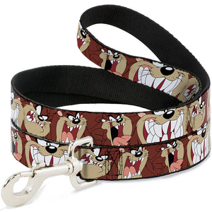 Buckle-Down Tasmanian Devil Expressions Pet Leash - staygoldendoodle.com
