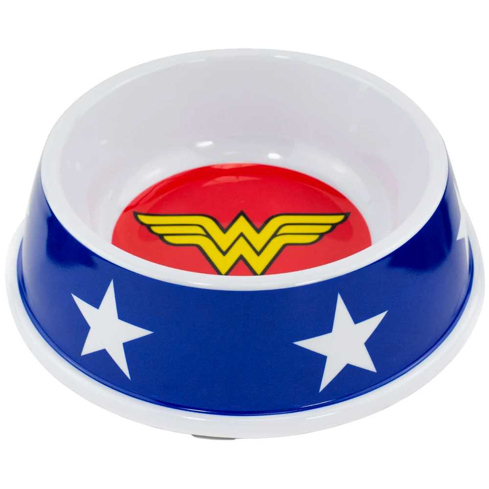 Buckle-Down Wonder Woman Pet Bowl - staygoldendoodle.com