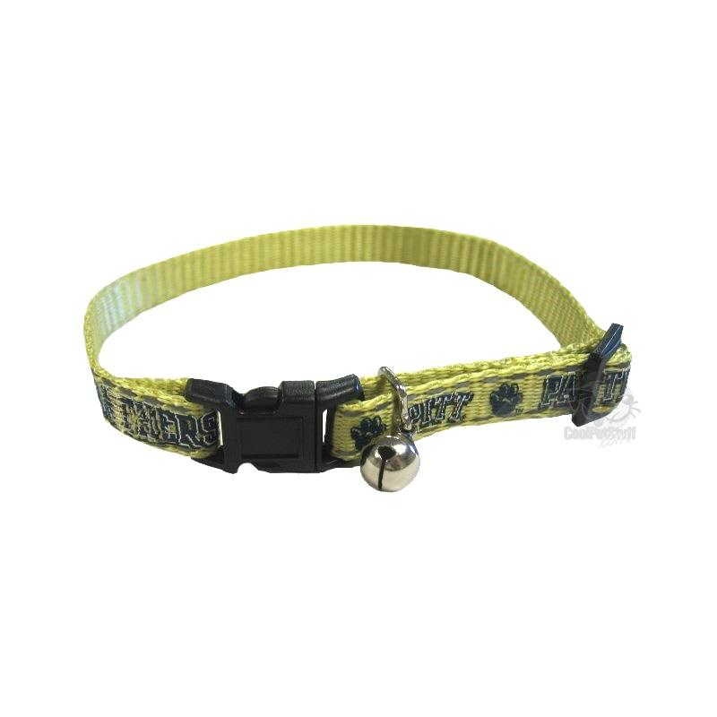 Pittsburgh Panthers Cat Safety Collar - staygoldendoodle.com