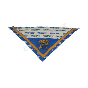 Kentucky Wildcats Triangle Bandana - staygoldendoodle.com