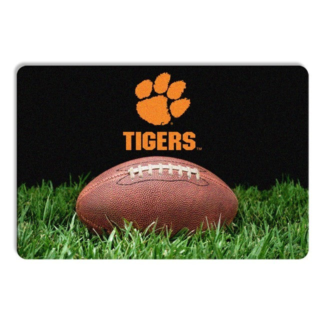 Clemson Tigers Pet Bowl Mat - staygoldendoodle.com