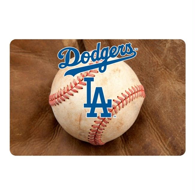 Los Angeles Dodgers Pet Bowl Mat - staygoldendoodle.com
