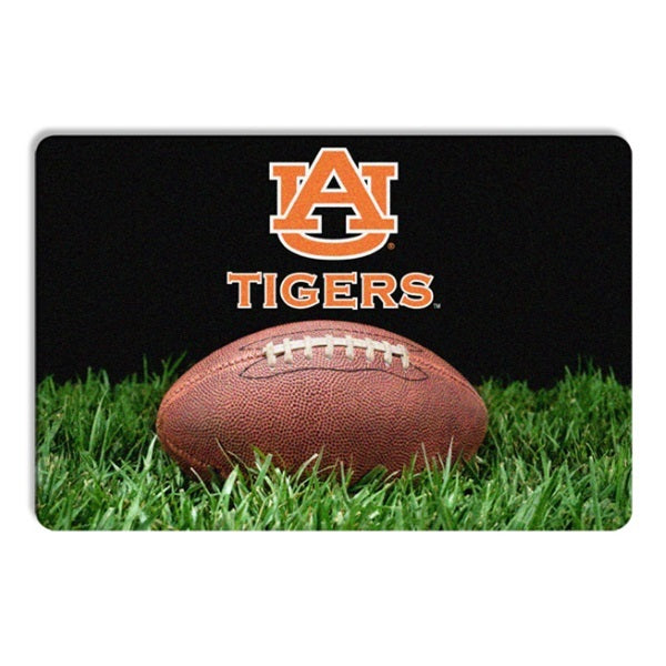 Auburn Tigers Classic Football Pet Bowl Mat - staygoldendoodle.com