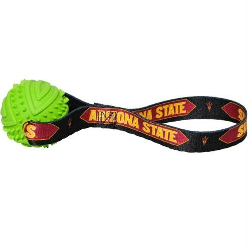 Arizona State Rubber Ball Toss Toy - staygoldendoodle.com