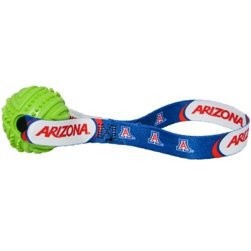 Arizona Wildcats Rubber Ball Toss Toy - staygoldendoodle.com