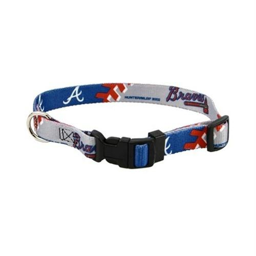 Atlanta Braves Dog Collar - staygoldendoodle.com