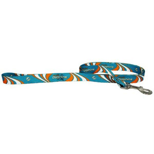 Miami Dolphins Dog Leash - staygoldendoodle.com