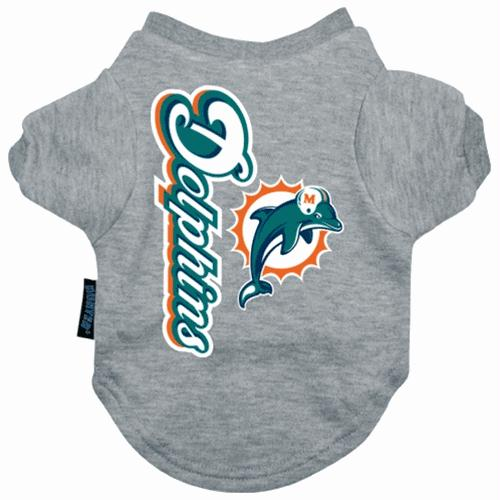 Miami Dolphins Dog Tee Shirt - staygoldendoodle.com