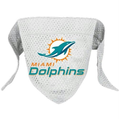 Miami Dolphins Pet Mesh Bandana - staygoldendoodle.com