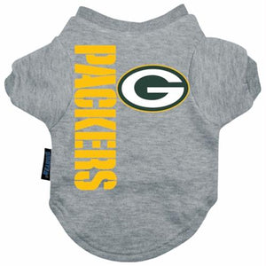 Green Bay Packers Dog Tee Shirt - staygoldendoodle.com