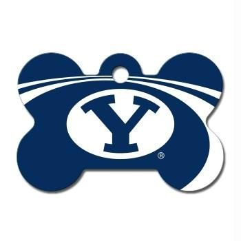 Brigham Young Cougars Bone ID Tag - staygoldendoodle.com