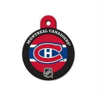 Montreal Canadiens Large Circle ID Tag - staygoldendoodle.com