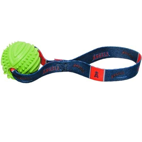 Los Angeles Angels Rubber Ball Toss Toy - staygoldendoodle.com