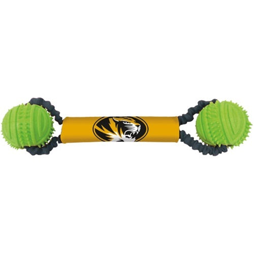 Missouri Tigers Double Bungee Tug-N-Toss Toy - staygoldendoodle.com