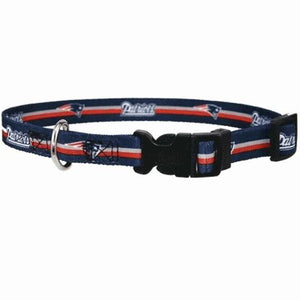 New England Patriots Dog Collar - staygoldendoodle.com