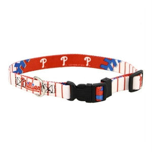 Philadelphia Phillies Dog Collar - staygoldendoodle.com
